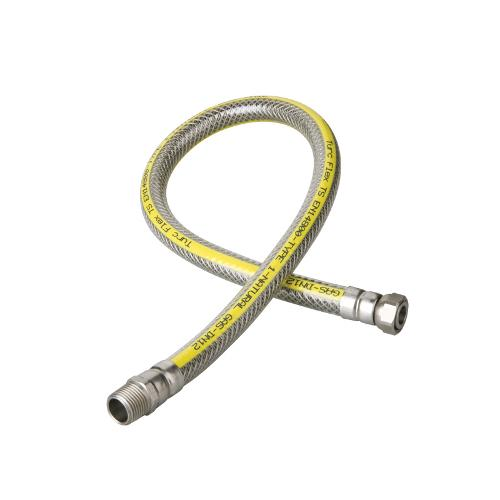 Mangueras flexibles de metal para gas