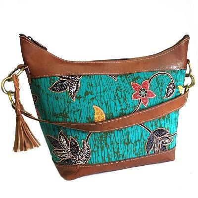 Leather & Batik Java Bags
