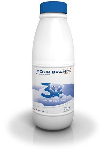 Liquid infant milk formula
