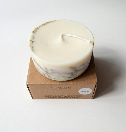 "Scented Soy Wax Candle ""5 SENSES"""