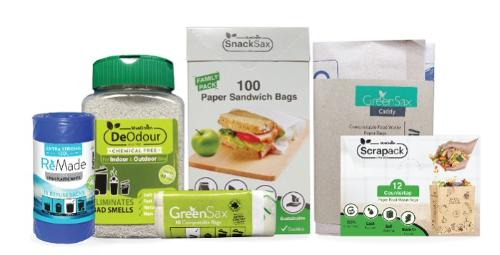 GreenSax Compostable Food Waste bags