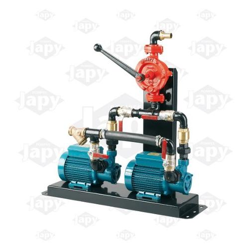 Electric Pumps With Priming And Emergency Manual Pump