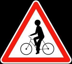 Panneau A21 Débouché De Cyclistes