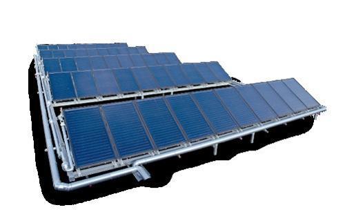 Bosch Солнечно-термические крупные установки