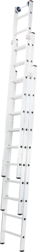 Three-section extension rung ladder NV 527