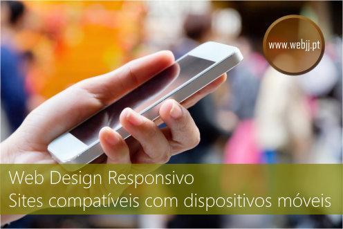 Web design responsivo, sites compatíveis dispositivos móveis