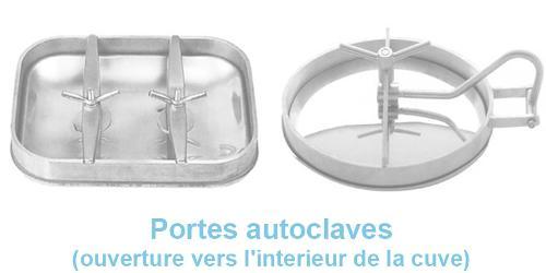 Portes Autoclaves (ouverture Vers L'interieur De La Cuve)