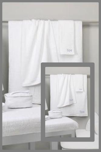Toallas blancas para Estetica y Belleza