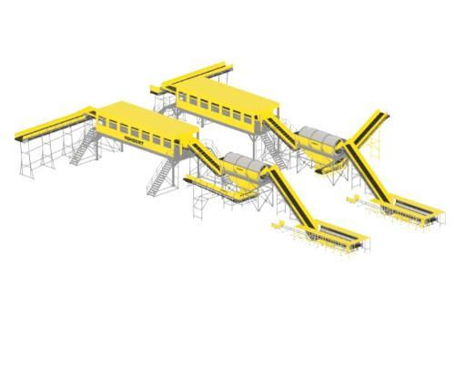 Линия для сортировки ТБО в 150 000 тонн в год