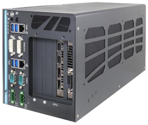 High-end Box-PC für die industrielle Bildverarbeitung