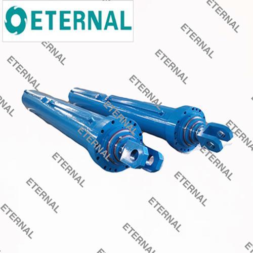Three-Stage Hydraulic Cylinder