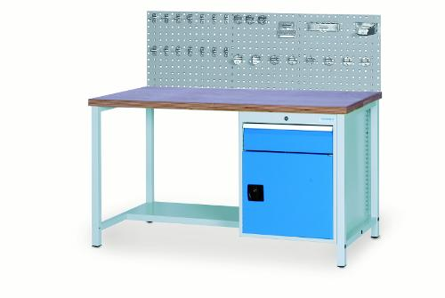 Workbench 2000 with 1 x drawer front height 150mm, 1 x...