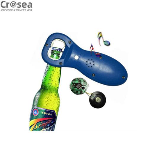 Beer Bottle opener with customized sound & logo printing for promotion