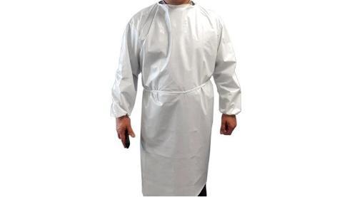 Robe d'isolation imperméable