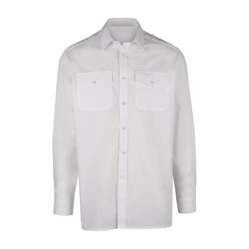 Heren bedrijfsoverhemd met lange mouwen