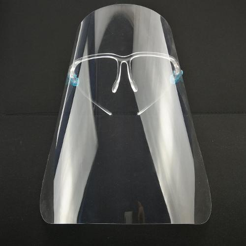 Face Shield Anti-fog Plastic Protective Glasses With Frame