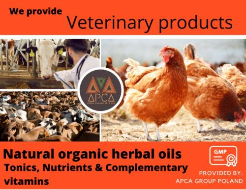 We provide and export veterinary products