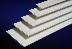 Flat Strips with sealing lip  / high when fitted, self-adhesive