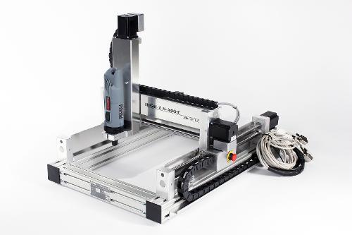 2D und 3D CNC Portalfräse