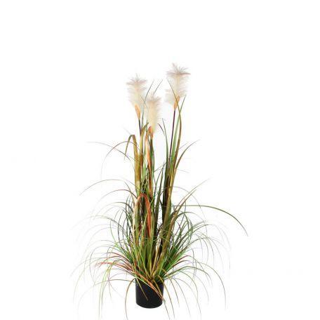 Plante Artificielle Herbe De Vulpin 120 Cm