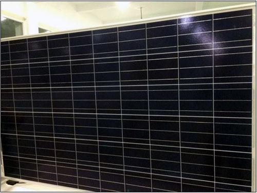 poly panneau solaire 330w