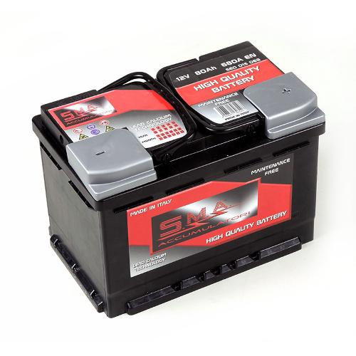Batterie voiture L3 80ah Made in Italy