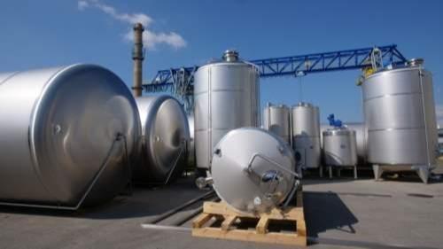 Produkcja (producent) zbiorników ze stali nierdzewnej