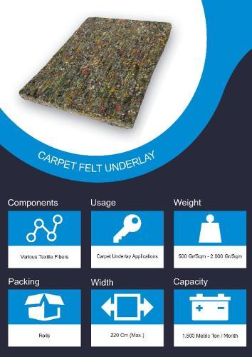 Felt Underlay For Carpet Flooring