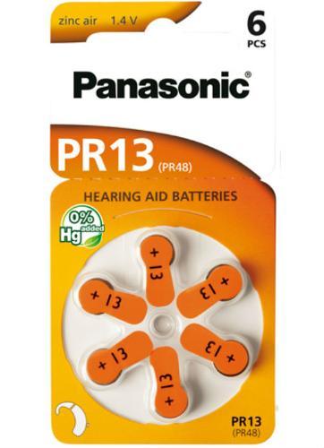 Batterie per apparecchi acustici PR13 – PR48