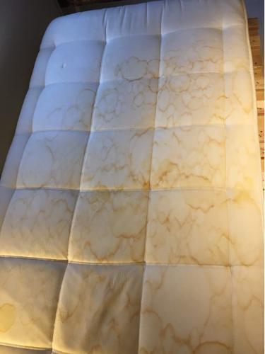 Vlekverwijdering matras