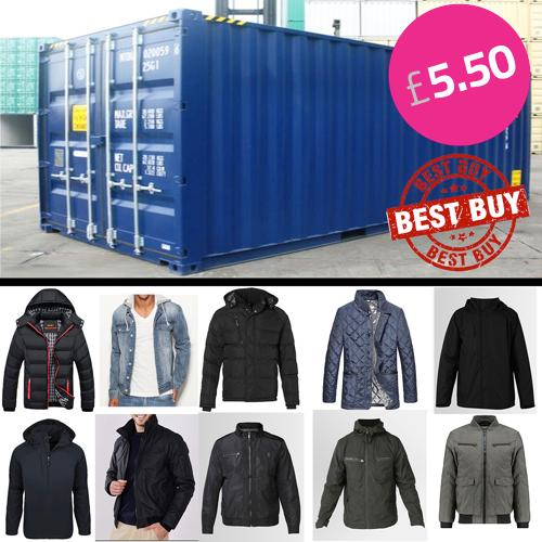 Brand New Mens jacket CLEARANCE OFFER UK