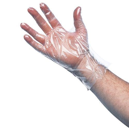Gant polyéthylène transparent LARGE