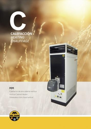 GENERADOR DE AIRE CALIENTE INDUSTRIAL MM