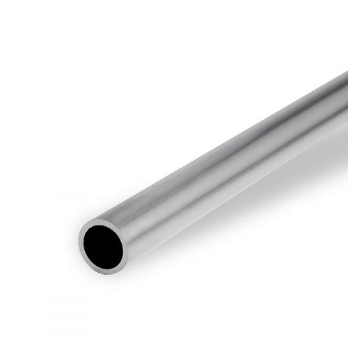 Aluminium round tube, EN AW-6060, 3.3206, mill-finish, T66
