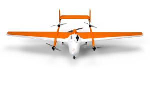 FoxyPro, VTOL airplane drone for photogrammetry