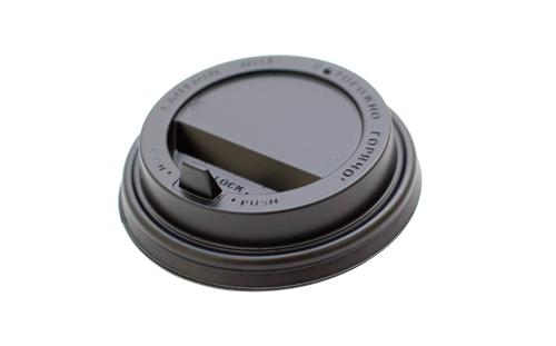 Reclosable Cup Lid with Hinged Tab
