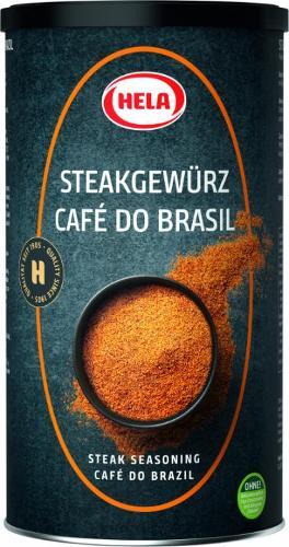Hela Steak Pepper Café do Brasil 750g. Grill pieces. Spices.