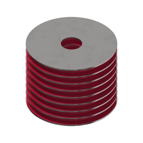 Rubber Layer Springs