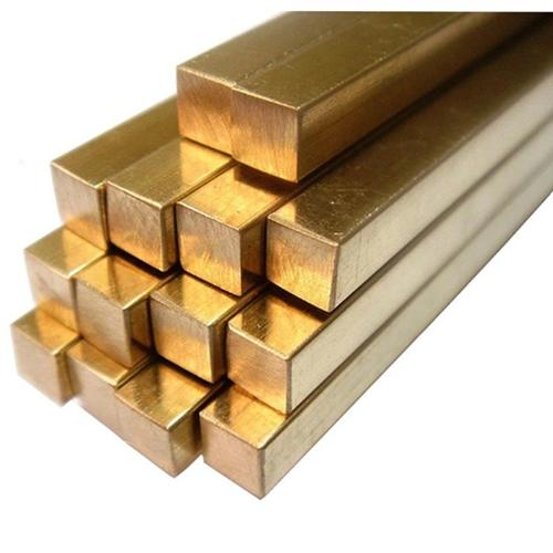 Customized shape  brass copper rod bar