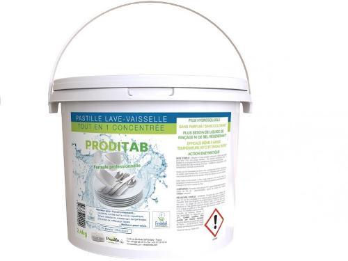 150 Pastilles Lave-vaisselle Tout-en-un Ecolabel