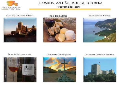 Tour Arrábida, Azeitão, Palmela, Sesimbra