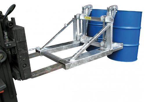 Pinces à futs type RS, appareils pour chariot élévateur