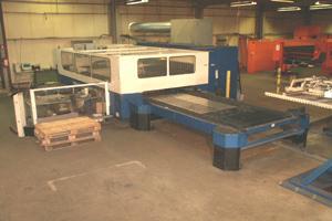 2 Trumpf L3050 lasers machines
