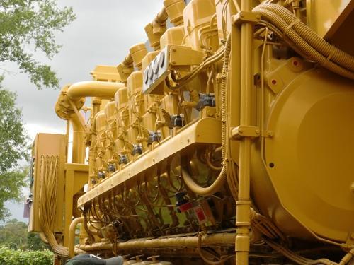 Caterpillar C-280 Diesel Generator Plant