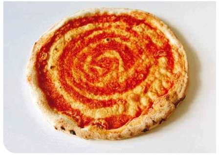 Basi per pizze pomodoro