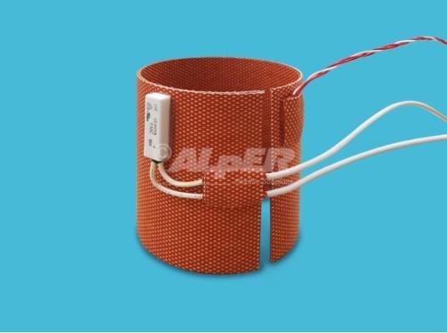 Riscaldatore termoformato in silicone etched foil