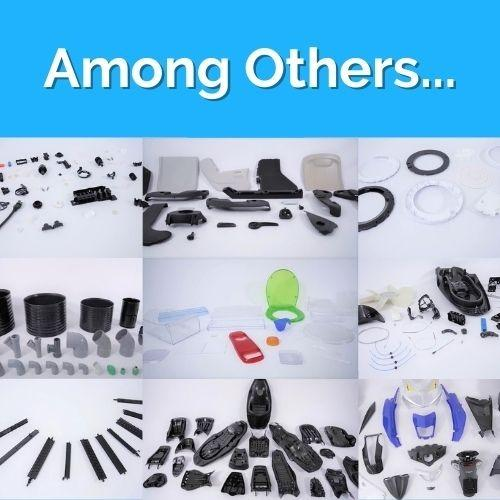 Molds for Different Business Areas & Part Typologies