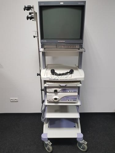 Endoskopieturm Videoprozessor Olympus CV-160...