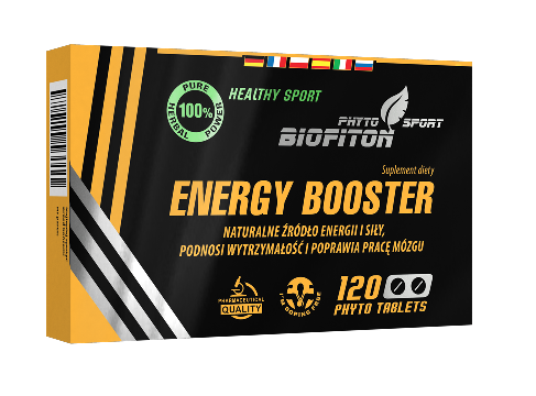 Biofiton Energy Booster - 100% Naturalny Suplement Ziołowy