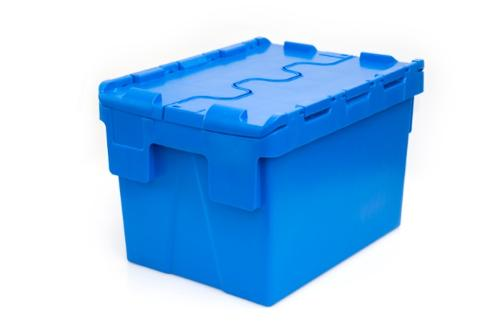 Caixas com tampas articuladas